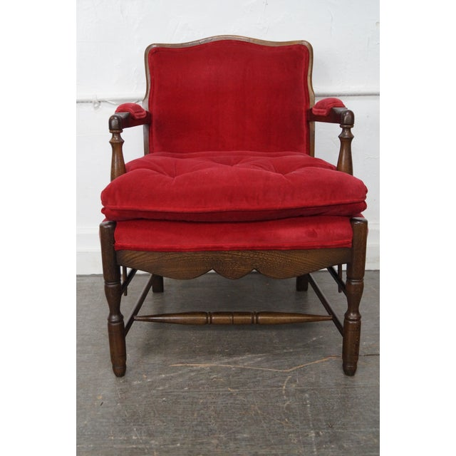 French Country Fauteuils Arm Chairs - A Pair - Image 11 of 11