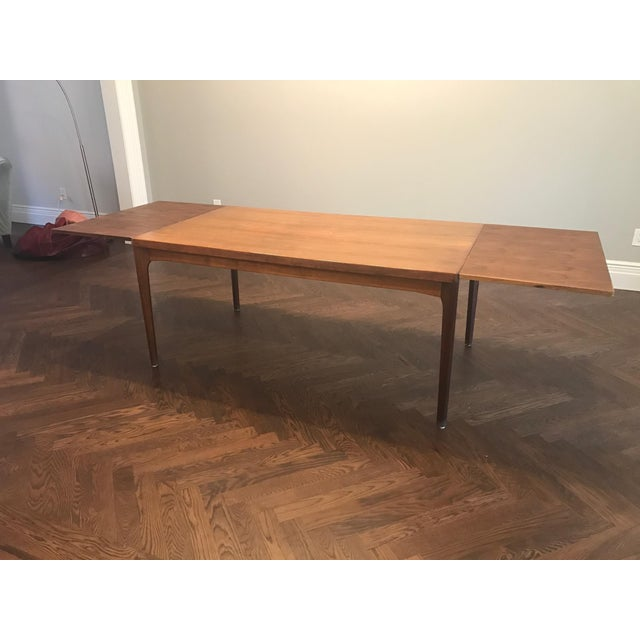 Danish Modern Dining Table with Two Leaves - Image 8 of 11