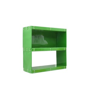 Otto Zapf Green Softline Plastic Shelf, Germany, 1971 For Sale