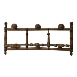 Faux Bamboo Coat Rack, circa 1900 For Sale