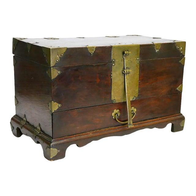 Antique Asian Money Box For Sale