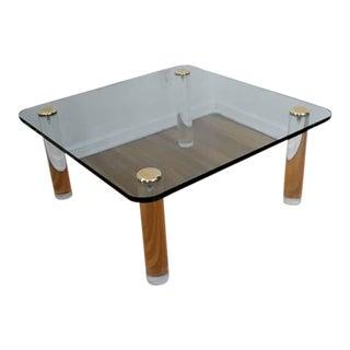 Vintage Regency Style Ghost Coffee Table For Sale