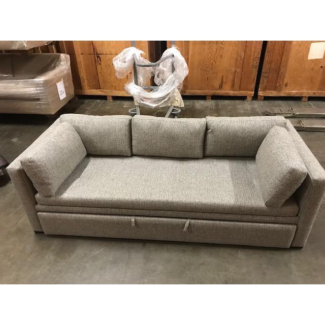 Transitional Custom Burton James Trundle Bed For Sale - Image 3 of 5