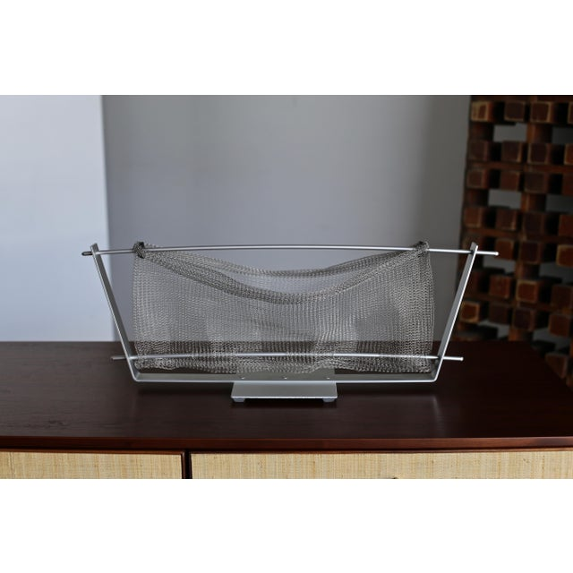 Gray W. Chester Old Aluminum Basket Circa 1989 For Sale - Image 8 of 9