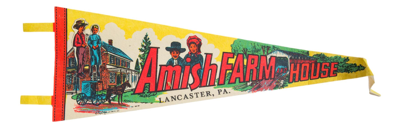 Lancaster Vintage Pennant Pennsylvania