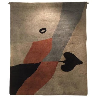 Rug/Wall Art after a design by Hans (Jean) Arp Edition Marie Cuttoli/Lucie Weill For Sale