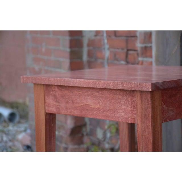 Shaker Sedona Poplar Side Table - Image 3 of 5