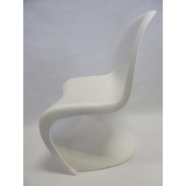 vitra panton s chairs in white set of 6 chairish