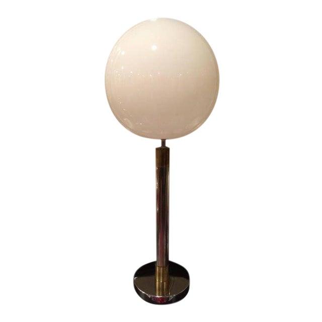 Large Robert Sonneman Style Lollipop Table Lamp For Sale