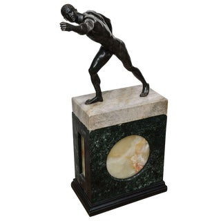 Bronze Sculpture of the Borghese Gladiator For Sale