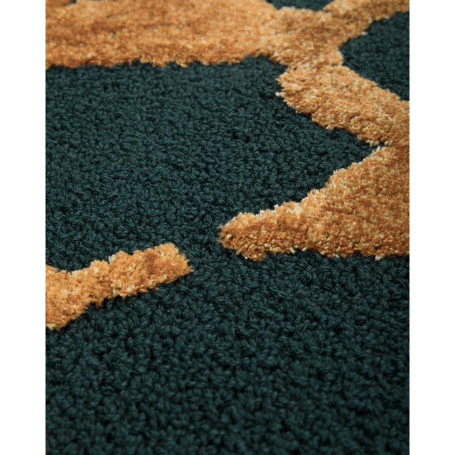 Contemporary Meta Rug From Covet Paris For Sale - Image 3 of 5