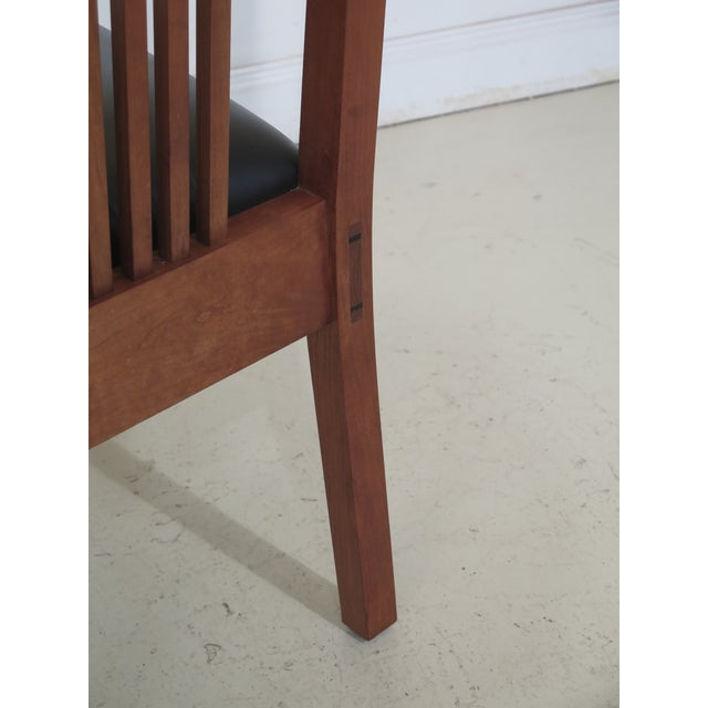 Wood 21st Century Stickley Collection Side Chairs- A Pair For Sale - Image 7 of 11