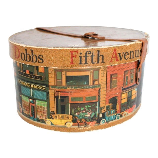 Dobbs Fifth Avenue New York Hat Box For Sale