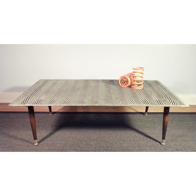 Industrial Up Cycle Coffee Table - Image 5 of 9