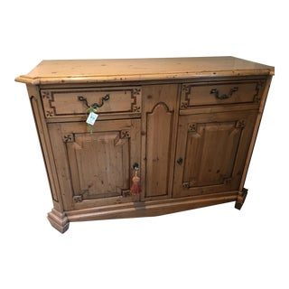 20th Century Rustic Server or Front Hall Piece For Sale
