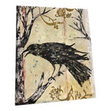 "Image of Original Large Mixed Media on Canvas ""Crow Hollow"" Painting by Brian McGuffey For Sale"