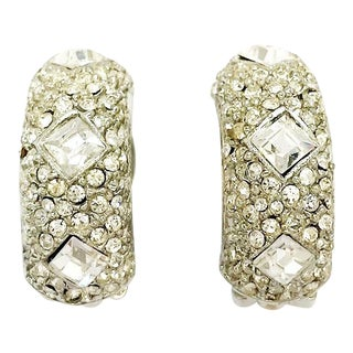 Crystal Earrings by Kenneth Jay Lane For Sale
