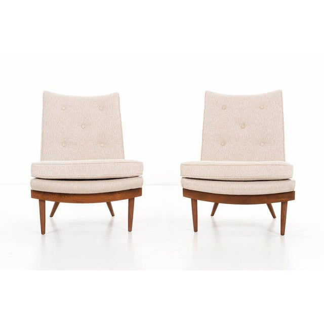 White George Nakashima Pair of Chairs For Sale - Image 8 of 9