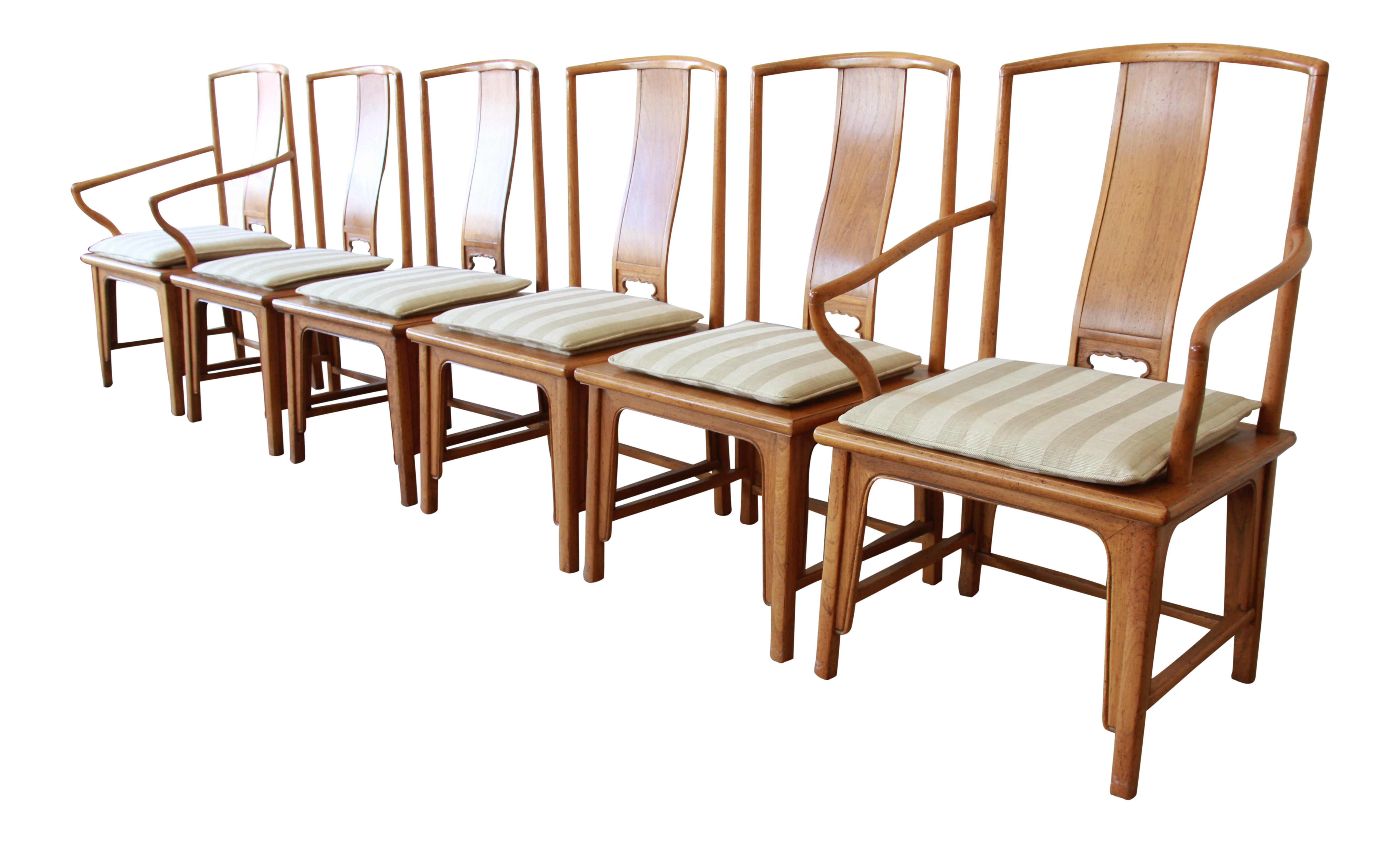Baker Furniture Chinoiserie Ming Dining Chairs   Set Of 6   Image 2 Of 14