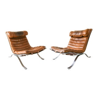 "Arne Norell ""Ari"" Lounge Chairs- a Pair For Sale"