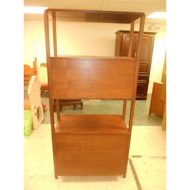 Stanley Danish Mid-Century Modern Wall Unit - Image 8 of 8