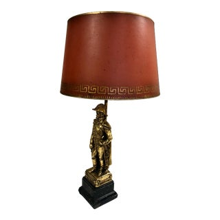 Napoleonic Italian Table Lamp by Borghese For Sale
