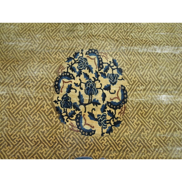 Overisze Antique Chinese Rug, 13'3'' X 17'9'' For Sale - Image 12 of 13