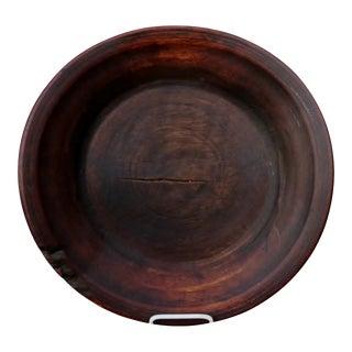 Primitive Wood Bowl For Sale