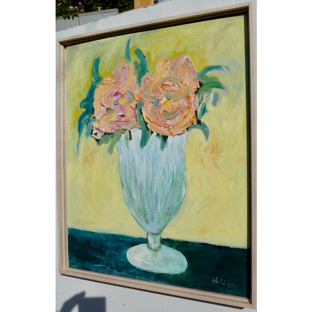 French Pink Roses Still Life For Sale In Los Angeles - Image 6 of 9