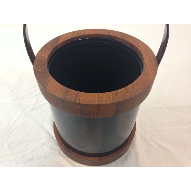 Authentic Ernest Sohn Teak Ice Bucket - Image 3 of 6