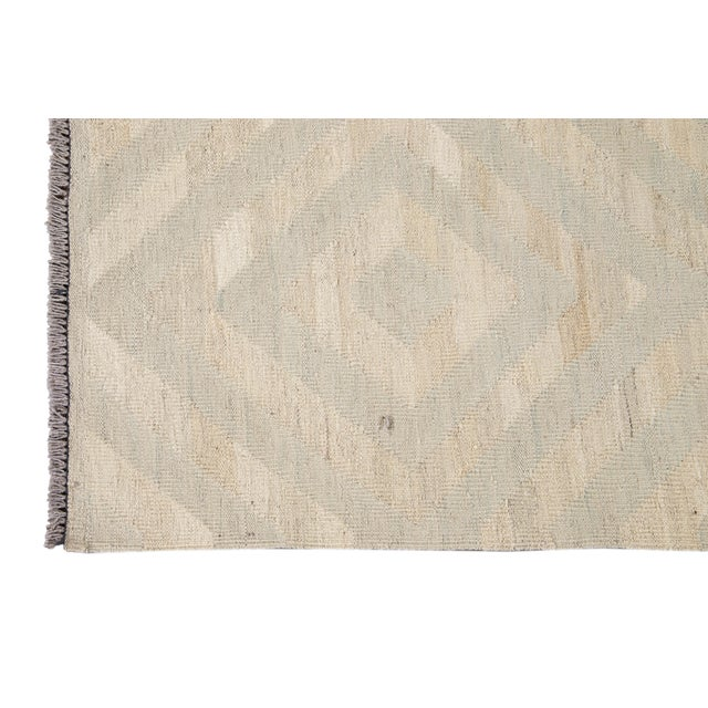2010s 21st Century Contemporary Turkish Kilim Wool Rug For Sale - Image 5 of 12