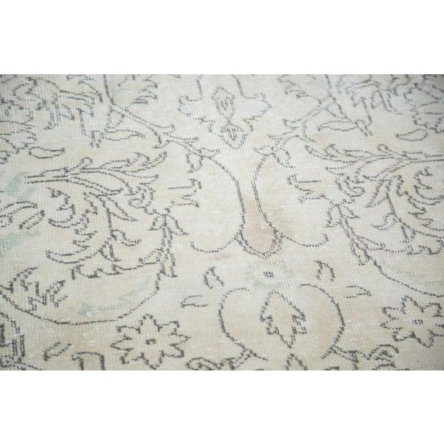 "Distressed Oushak Carpet - 6'3"" X 10' - Image 5 of 8"