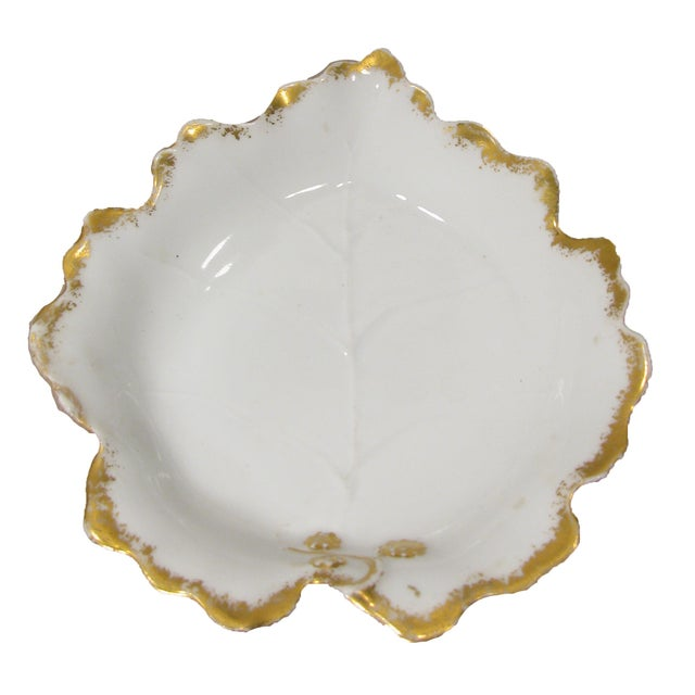 Early 20th Century French Limoges Sauce Boat W/ Underplate For Sale - Image 5 of 7