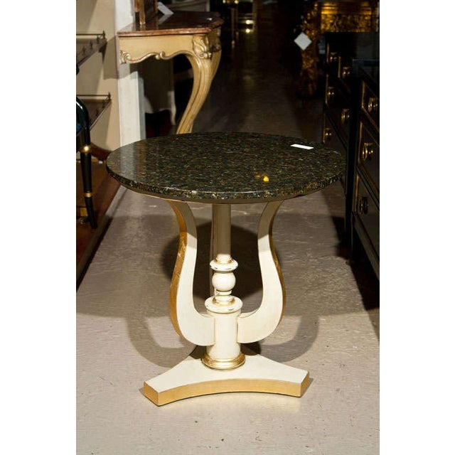 Art Deco Marble Top Side Tables - A Pair - Image 2 of 4