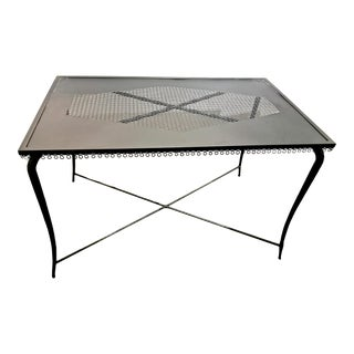 French Iron Table or Console For Sale