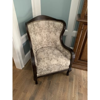 Arhaus Catania Upholstered Topaz Chairs - A Pair Preview