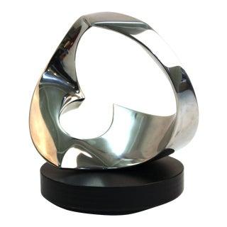 Todd Reuben Modern Abstract Metal Sculpture For Sale