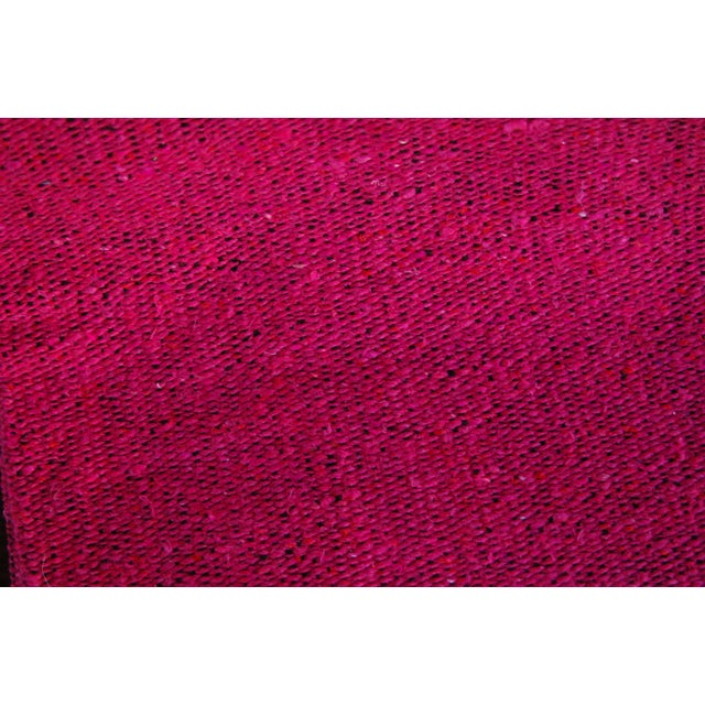 Mexican Boho Chic Fuschia Yoga/Beach Blanket - Image 3 of 3