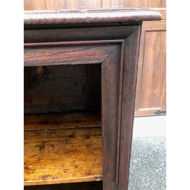 18th Century Georgian Oak Cabinet For Sale - Image 11 of 13