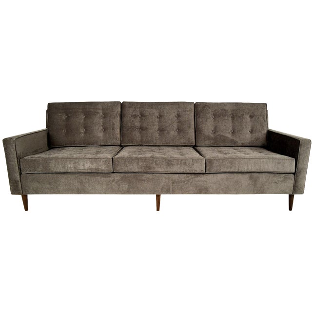 Stylish Mid-Century Modern Three Person Sofa - Image 1 of 7