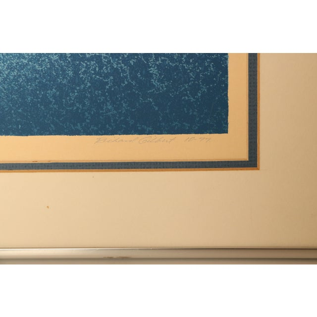 "Richard Gilbert ""Age of Grace"" Surrealist Serigraph Print For Sale - Image 4 of 7"
