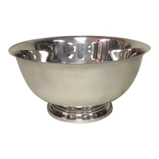 "International Silver 9"" Paul Revere Bowl For Sale"