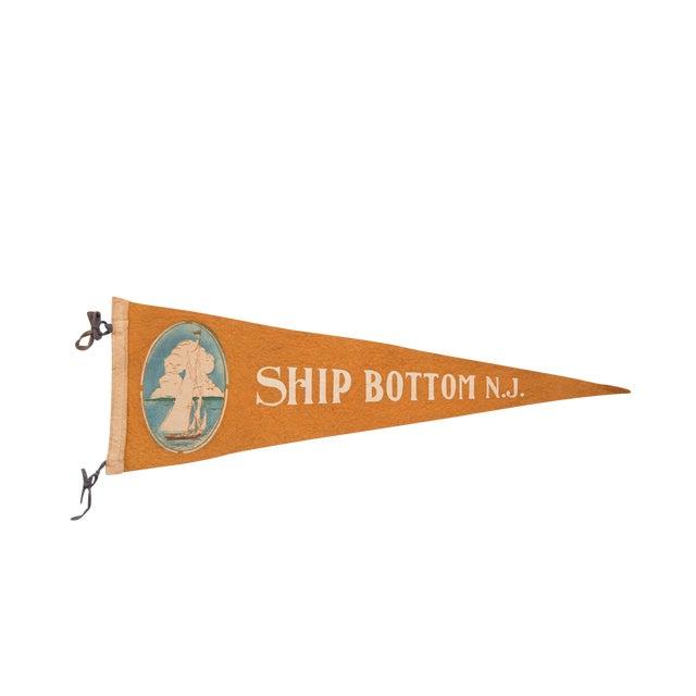 Ship Bottom NJ Long Beach Island Felt Flag For Sale