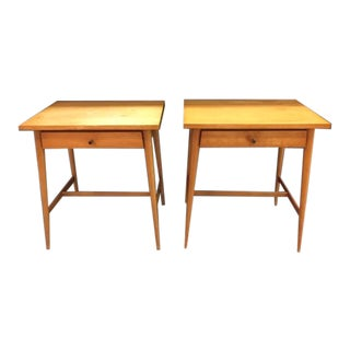 Paul McCobb Planner Group / Winchendon Maple Nightstands For Sale