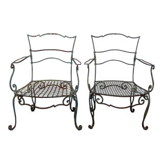 Jean Charles Moreux Armchairs, 20th Century, a Pair For Sale
