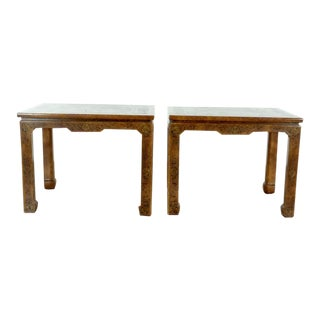 Chinoiserie John Widdicomb Tables - a Pair For Sale