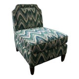 Image of Custom Highland House Luc Slipper Chair For Sale