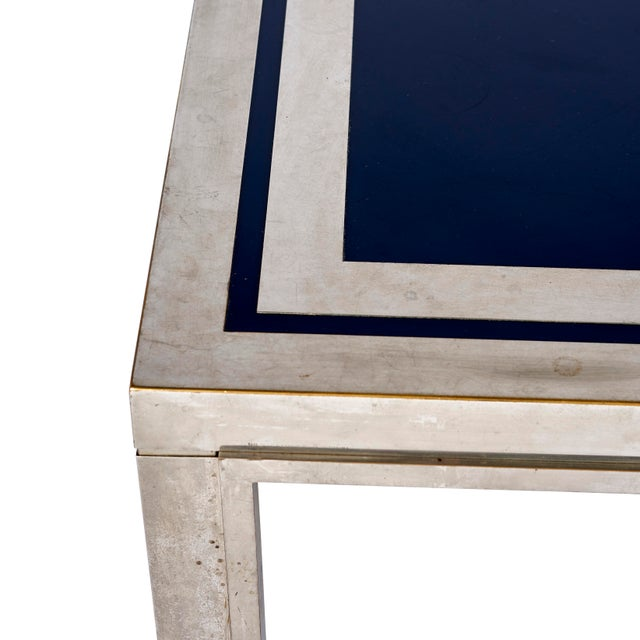 Mid 20th Century 1950's French Steel Coffee Table For Sale - Image 5 of 7