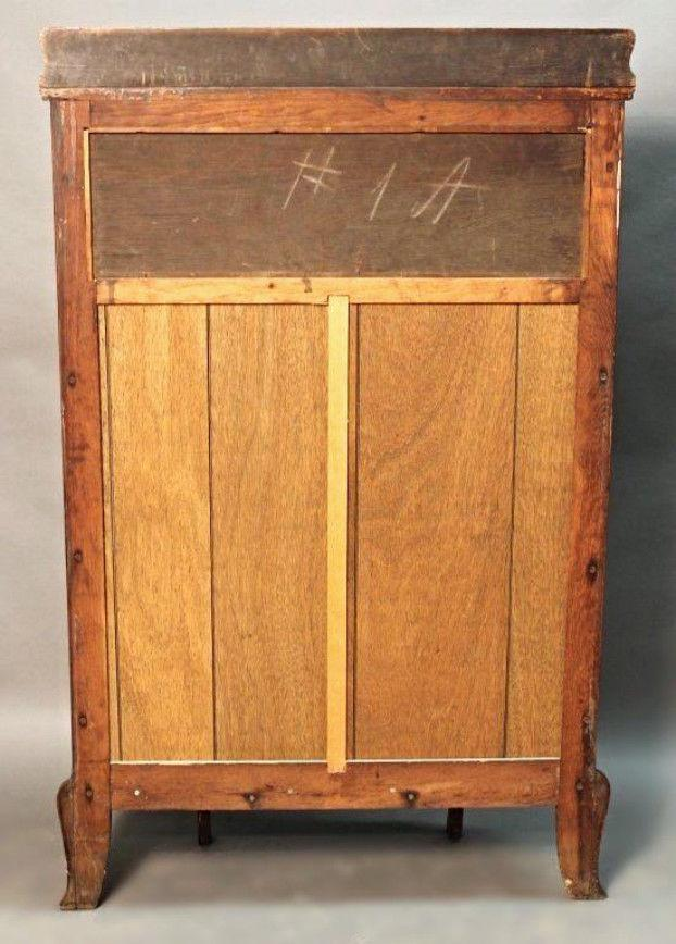 Oak Antique Oak Curved Display Curio China Cabinet For Sale   Image 7 Of 10