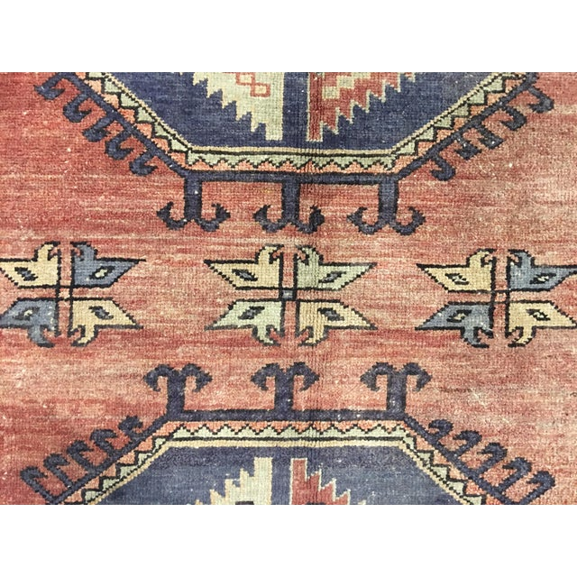 "Vintage Turkish Oushak Runner - 4'4""x9'11"" - Image 7 of 10"